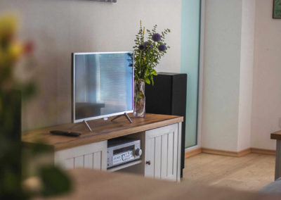 Apartmán v přízemí - TV