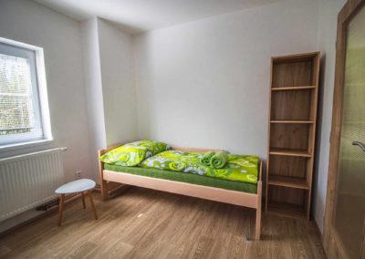 Apartmán v patře - jednolůžkový pokoj