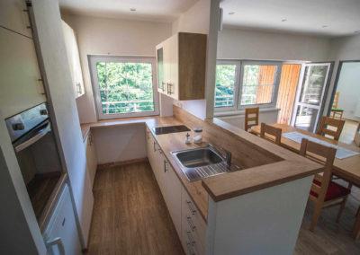 Apartmán v patře - kuchyně